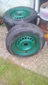 Winter Tires on Chev Rims New Price