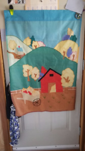 """FALL FLAG    28"""" x 41""""  HANG OUTSIDE OR IN..."""