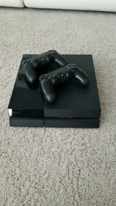 Ps4 1 controller all hookups and charger
