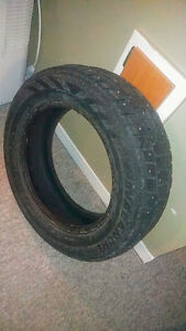 Four Studded Winter Tires (185/65/R15) $70 obo
