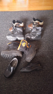 Boys size 5 and 6 Boots and shoes
