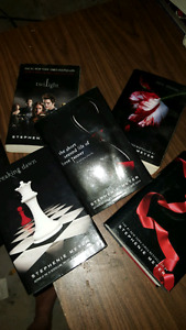 Twilight collection of books /Stephenie Meyer