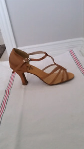 Brand New Dance Shoes size 37. Leather, suede and fabric