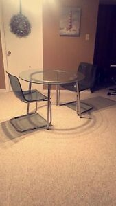 Table & 2 Chairs Strathcona County Edmonton Area image 2