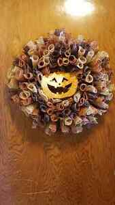 Handmade Fall Wreath