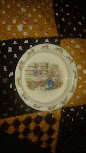 Bunnykins Collectors dish