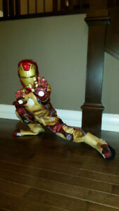 Kids Spiderman & Iron Man Halloween costumes