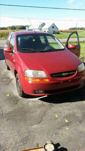 2006 Chevrolet Aveo Base Berline