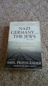 Nazi Germany and the Jews ISBN- 978-0-06-135027-6 London Ontario image 1