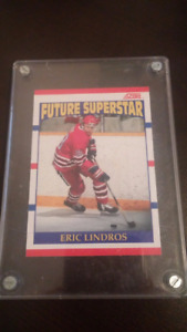 Eric Lindros Canadian Score Rookie Card 1991