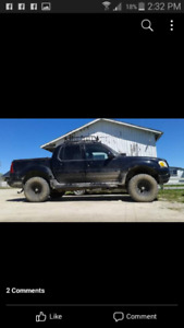 2005 Ford Sport Trac, with 3inch body lift