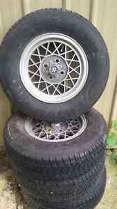 Fiat rims and tires