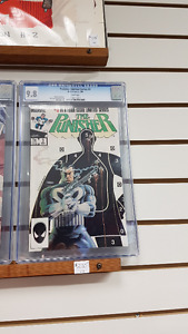 CGC graded 9.8 The Punisher #3 Limited Series comic
