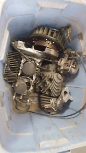 Yamaha Enticer 340 pieces / parts