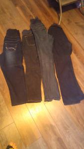 Maternity jeans/gym pants/gym capris