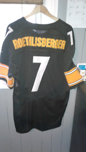 Men's Large NFL Roethlisberger Jersey