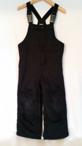 Gap Toddler Boys or Girls Black Primaloft Bib Snow Pants Size 3T