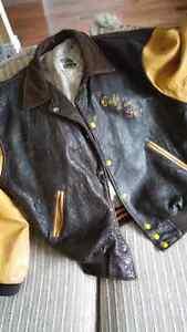 Magnifique manteau en cuir Cafe d'en Face
