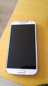 Samsung galaxy s4 white phone only 16gb