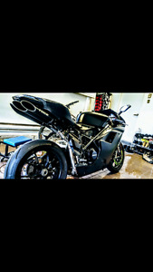 Ducati 848 evo black steal edition BAS KILO!