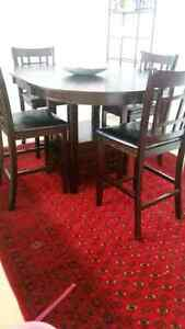 Solid Wood Dining Set Table with 4 Chairs for just $490 London Ontario image 2