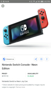 Nintendo switch bundle