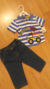 Multi Item Boys Baby Size 12