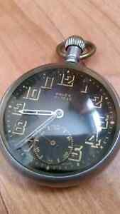 Early 1940's Military issued Rolex pocket watch in gun metal St. John's Newfoundland image 4