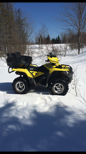 Atv. And side by side for trade