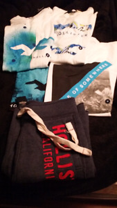 BRAND NEW HOLLISTER SHIRTS & SHORTS