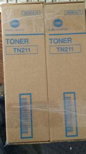 BNIB Original Konica Black Toner Cartridge TN211 Kitchener / Waterloo Kitchener Area image 1