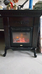 Flame works well, attractive frame that is paintable, the heater