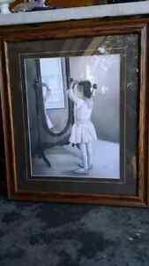 Wall picture little Ballerina Kitchener / Waterloo Kitchener Area image 1