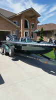 2004 ranger 522 dvx Bass Boat and 2009 Evinrude 250 HO