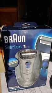 Braun electric shaver new sealed! $35