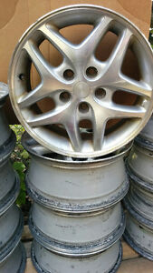 4 Dodge Intrepid 16 inch rims with 5x4.5 114.3 bolt pattern