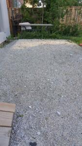 Free fine limestone interlocking sand