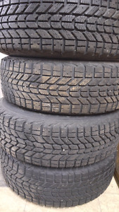 Selling Full Set Firestone Winterforce Tires and Rims!!