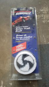 Simoniz Pressure Washer Rotary Wash Brush (new