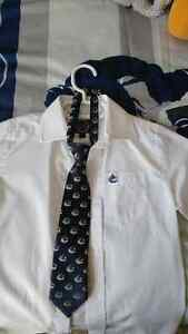 Boys Vancouver Canucks Shirt & Tie Kitchener / Waterloo Kitchener Area image 1