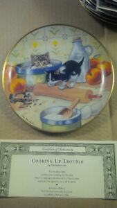 Bradex Franklin Mint cat print plates with certificates Oakville / Halton Region Toronto (GTA) image 2