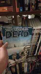 The Walking Dead TPB comics vol 2-10
