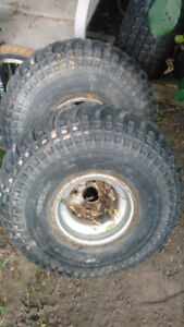 Honda big red rear tires