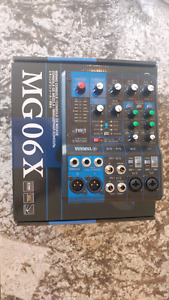 Yamaha MG06X Mixer with built in effects