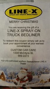 Car Custom Care - Linex Gift Certificate