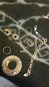 Scrap jewelry 925 silver