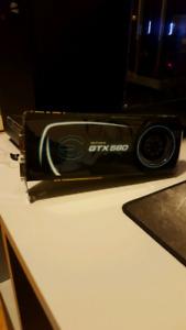 EVGA GTX 580 1.5GB GPU