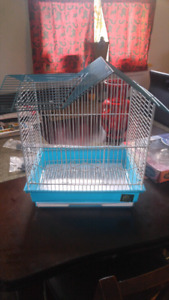 Blue and white Bird cage for sale
