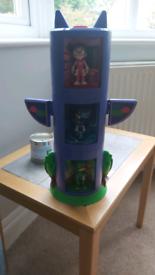 PJ Masks Transforming Tower Set