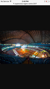 2 TICKETS TO AMA SUPERCROSS